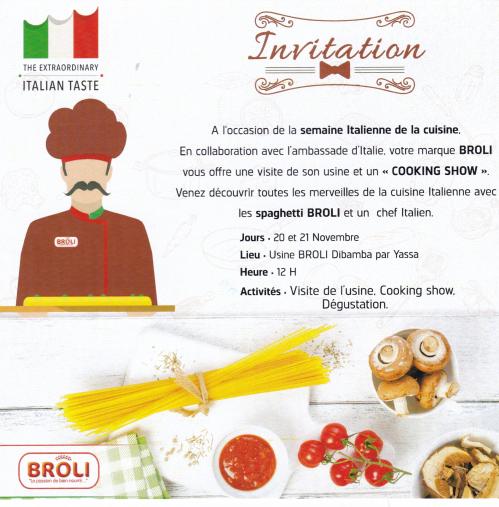 INVITATION ITALIAN TASTE 00